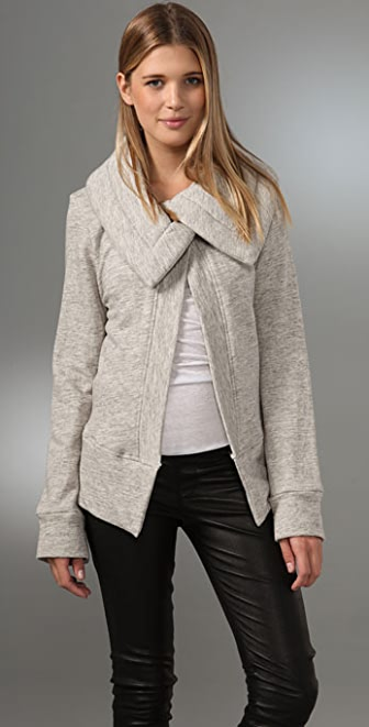 Three Dots Quilted Oversized Cardigan