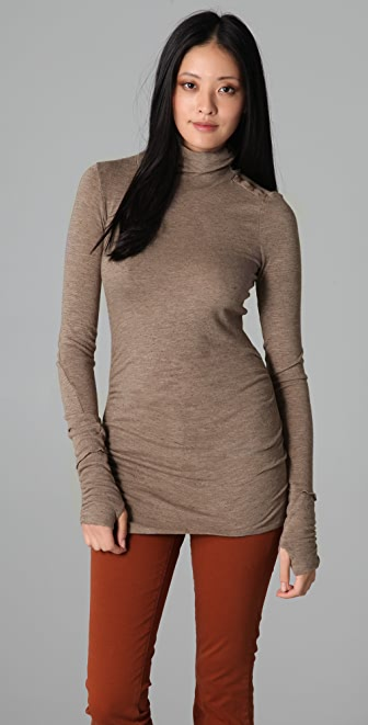Three Dots Turtleneck Tunic