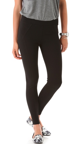 Three Dots Seamed Leggings