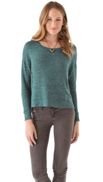 Three Dots Boxy Pullover