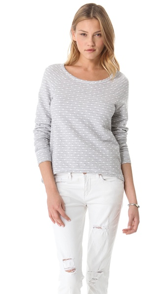 Three Dots French Dot Pullover