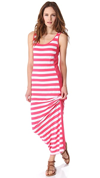 Three Dots Column Maxi Dress