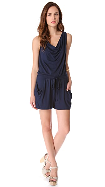 Three Dots Sun Romper
