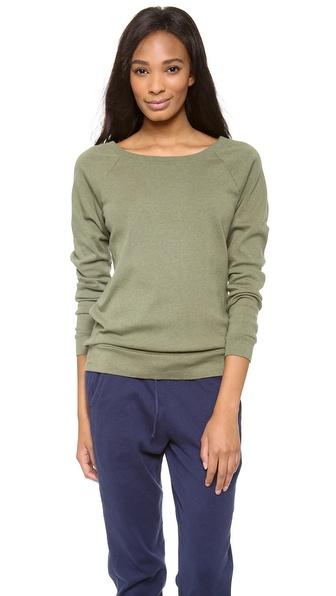 Three Dots Long Sleeve Sweatshirt