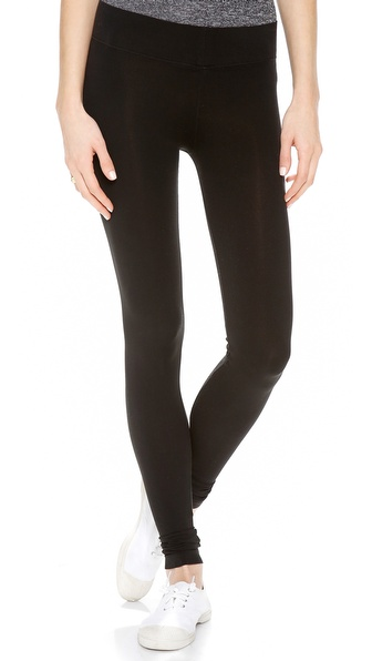 Three Dots Seamless Jersey Leggings