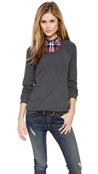 Three Dots Easy Fit Sweatshirt