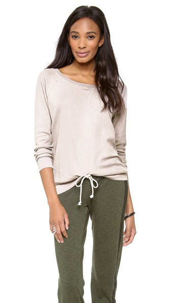 Three Dots Thermal Sweatshirt