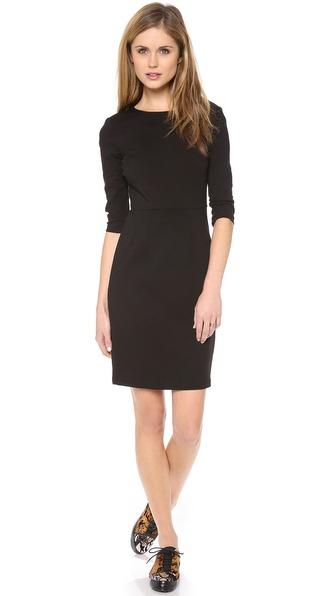 Three Dots Sheath Dress with 3/4 Sleeves