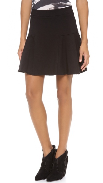 Three Dots Trumpet Miniskirt