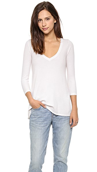 Three Dots Relaxed Thermal Top