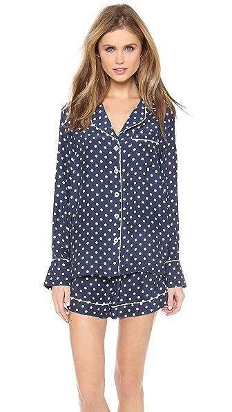 Three J NYC Jane Silk Pajama Set