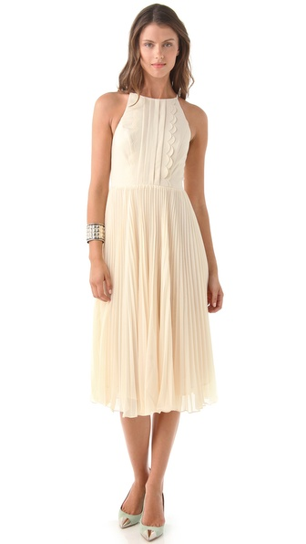 Three Floor Sway Midi Dress