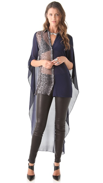 Three Floor Heroine Cape Shirt