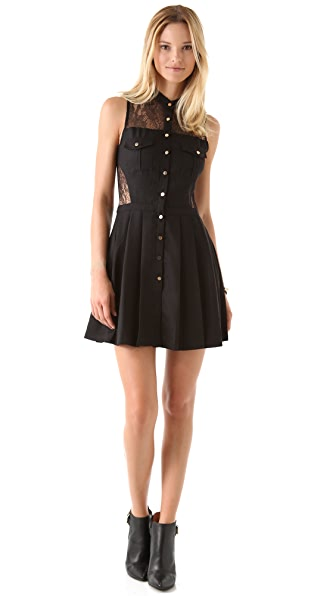 Three Floor Catch Mini Dress