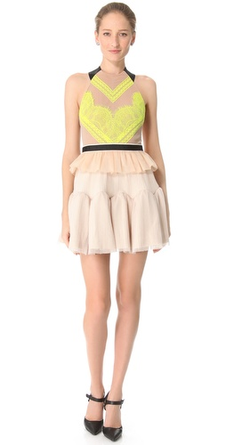 Three Floor Electro Pop Dress