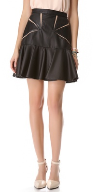 Three Floor Faux Attraction Skirt