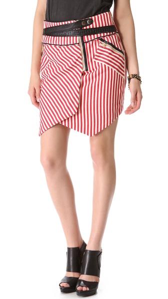 Three Floor Skyline Skirt
