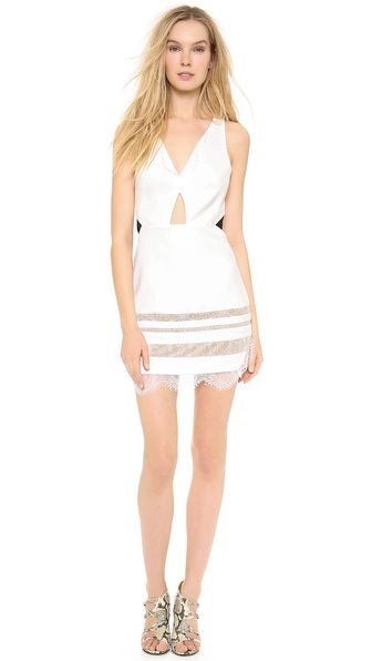 Three Floor White Isle Dress