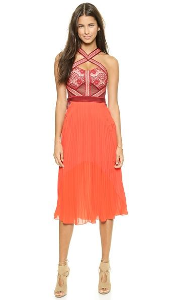 Kupi Three Floor haljinu online i raspordaja za kupiti Three Floor True Romance Dress Bordeaux online