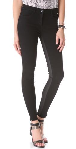 3x1 Channel Seam Zip Jeans