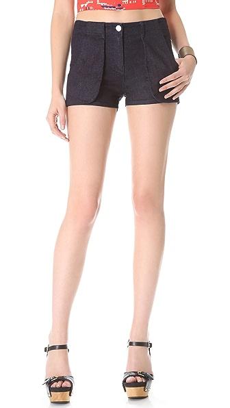 3x1 High Rise Shorts