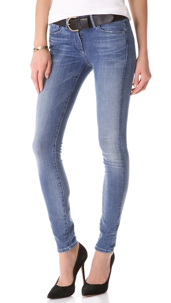3X1 Mid Rise Skinny Jeans - Wash No. 7