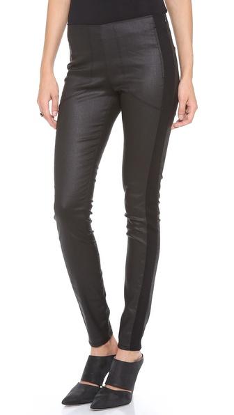 3x1 W2 Mid Rise Moto Skinny Jeans