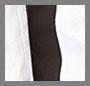 White Coated/Black