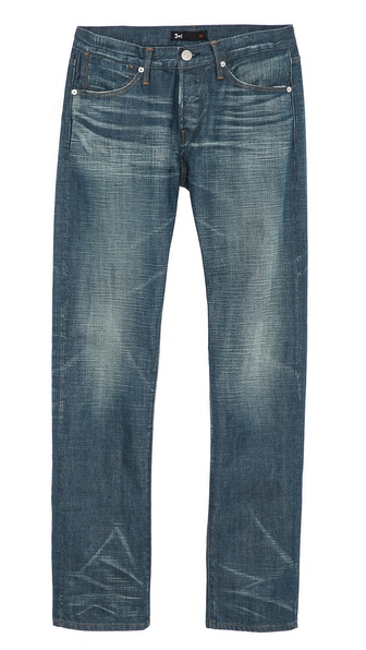 3x1 M4 Bond Distressed Jeans