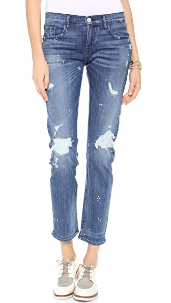 3x1 Distressed Boyfriend Jeans