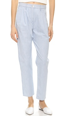 3x1 W2 Pleated Railroad Trousers