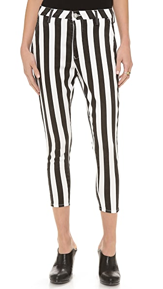 THVM Behati Stripe Zip Trousers