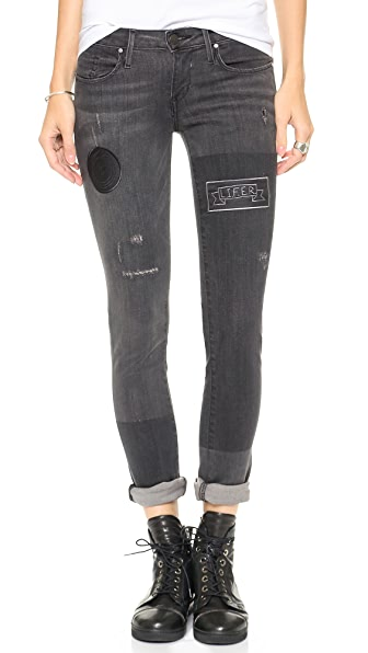 THVM Behati Punk Cigarette Jeans