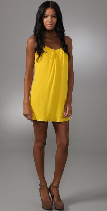 Tibi Strapless Dress