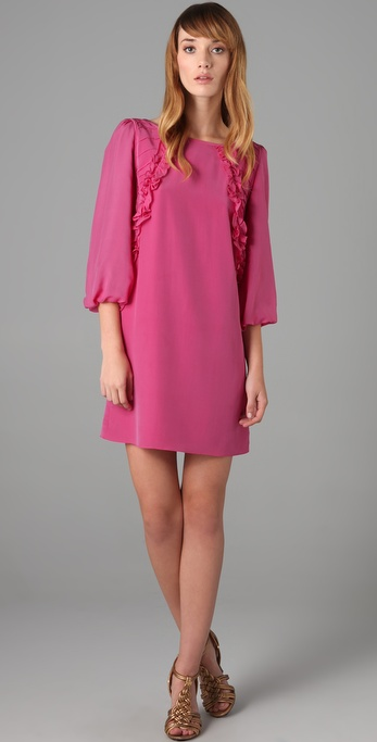 Tibi Ruffle Dress
