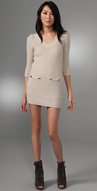 Tibi Chunky Sweater Dress