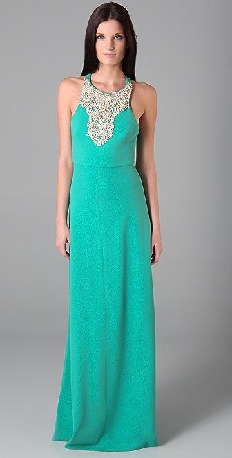 Tibi Beaded Long Dress