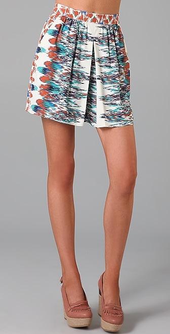 Tibi Istanbul Shorts