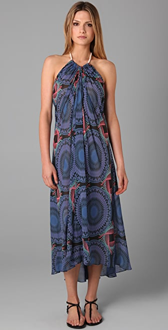 Tibi Solar Eclipse Print Cover Up