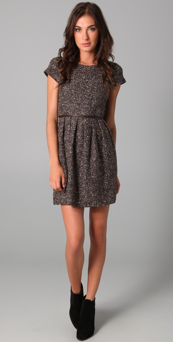 Tibi Tweed Dress