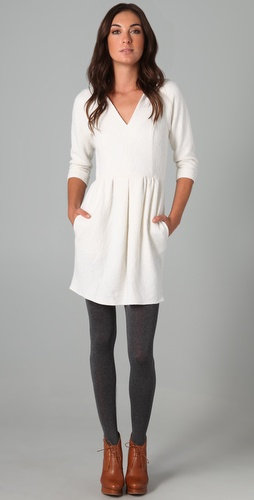 Tibi 3/4 Sleeve Dress