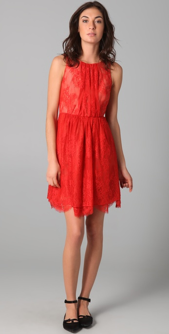 Tibi Imperial Lace Dress