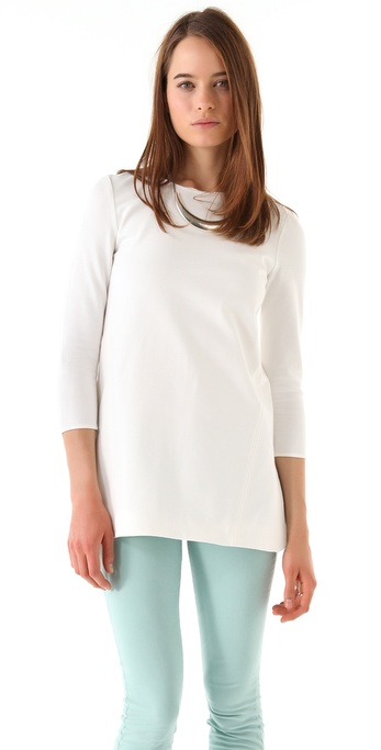 Tibi Long Sleeve Tunic