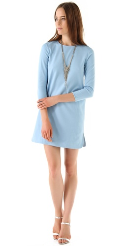 Tibi Long Sleeve Dress