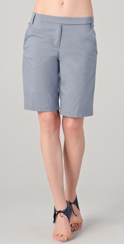 Tibi Bermuda Suiting Shorts