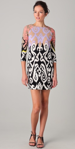 Tibi Jasmine Printed Shift Dress