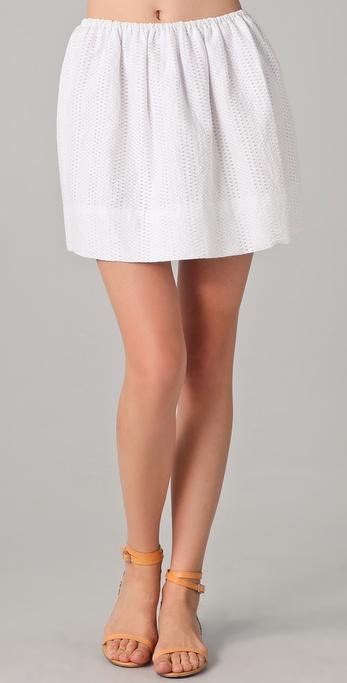 Tibi Jacquard Skirt