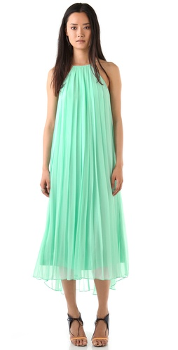 Tibi Sleeveless Maxi Dress