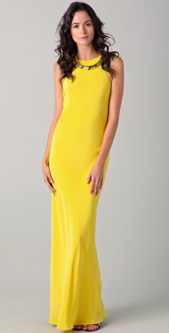 Tibi Sleeveless Gown