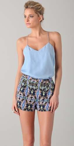 Tibi Racer Back Cami